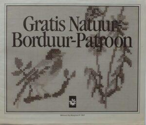 Natuur borduurpatroon Margriet
