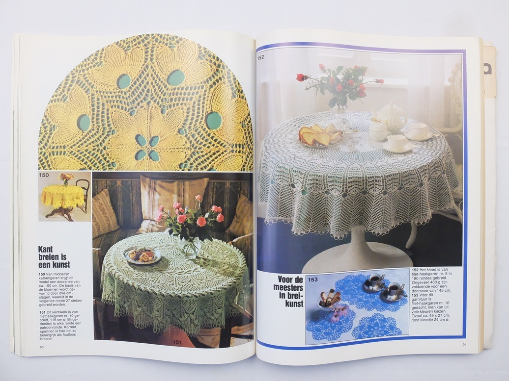 Pagina uit Burda Groot bont handwerkboek