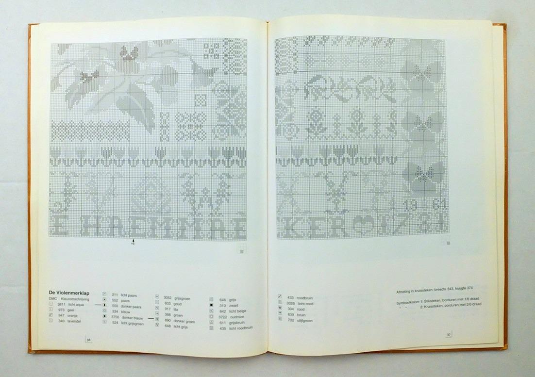 Pagina uit boek Jan Houtman merklappen