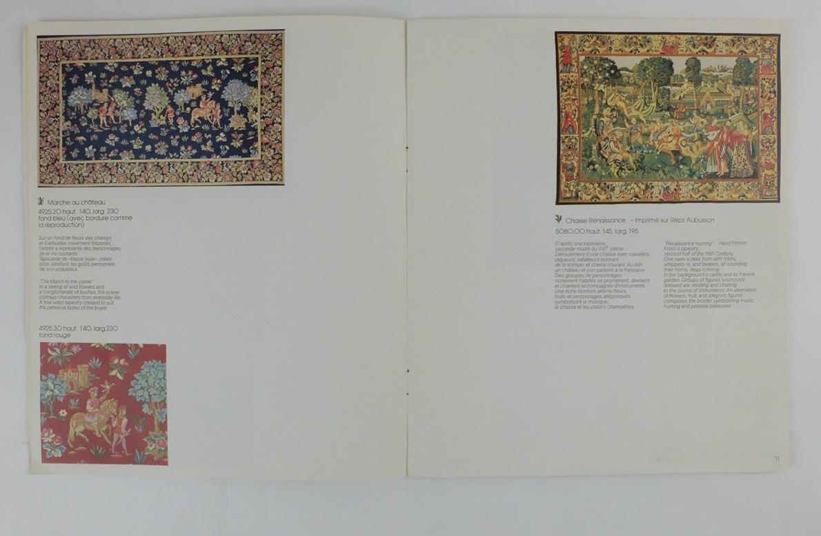 Afbeelding uit catalogus Tapisseries