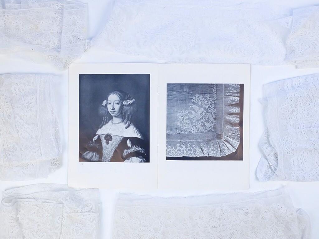 Pagina uit boekje Kant en Kunst