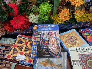Quiltboeken van bibliotheek quiltersgilde