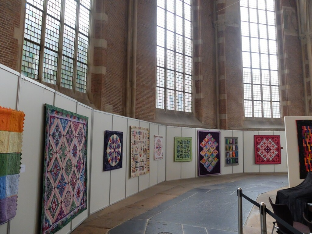 Quilts op 32e tentoonstelling Quiltersgilde