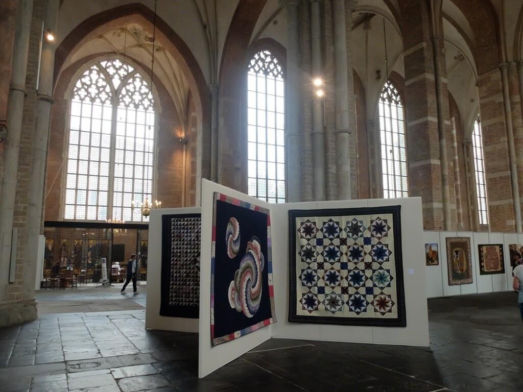 Quilts op 32e tentoonstelling Quiltersgilde in Deventer