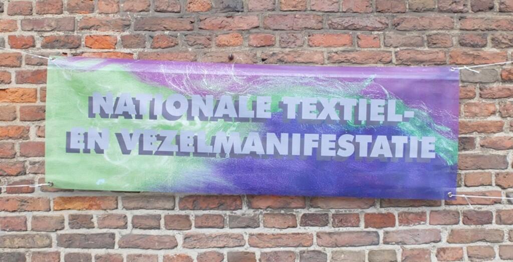 Spandoek Nationale Textiel en Vezelmanifestatie