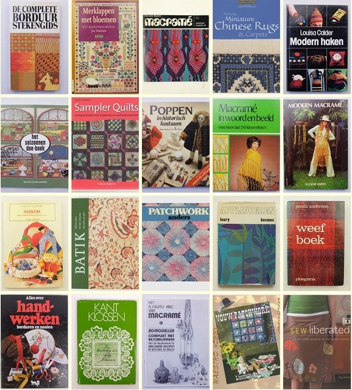 Twintig oude handwerkboeken