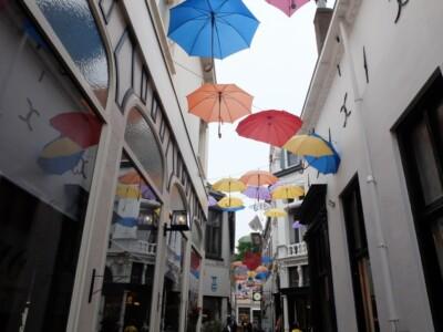 Winkelstraatje in Deventer