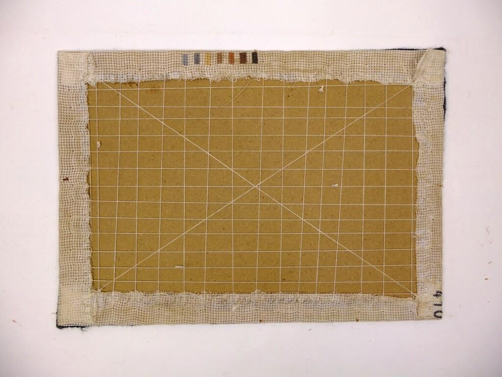 Achterkantopgespannen borduurwerk
