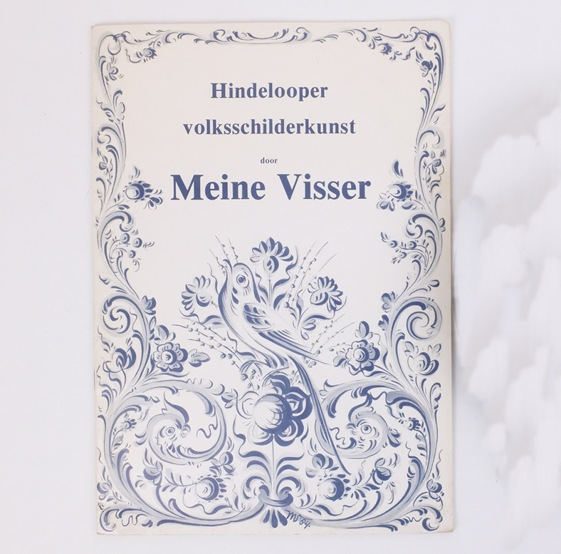 Boek Hindelooper volksschilderkunst