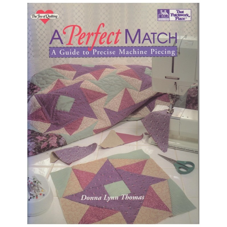Boek A perfect match quilten