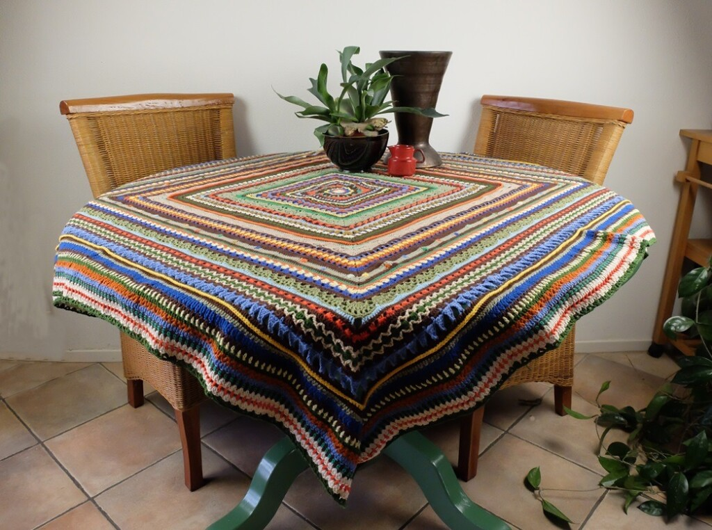 Crochet along 2015 op tafel