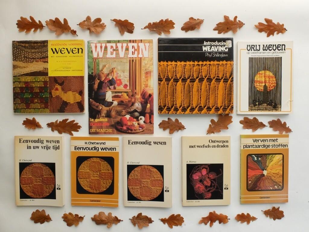 Goudgele weefboeken