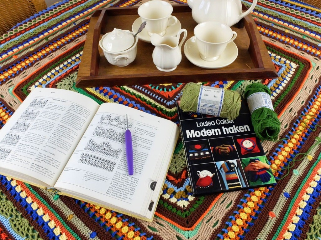 Handwerkboeken op Crochet-along