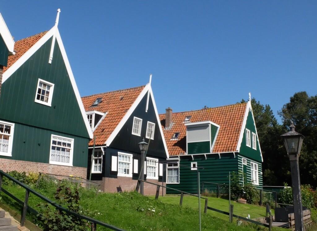 Huizen op Marken