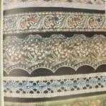Illustratie uit boekje Borduren en weven met kralen