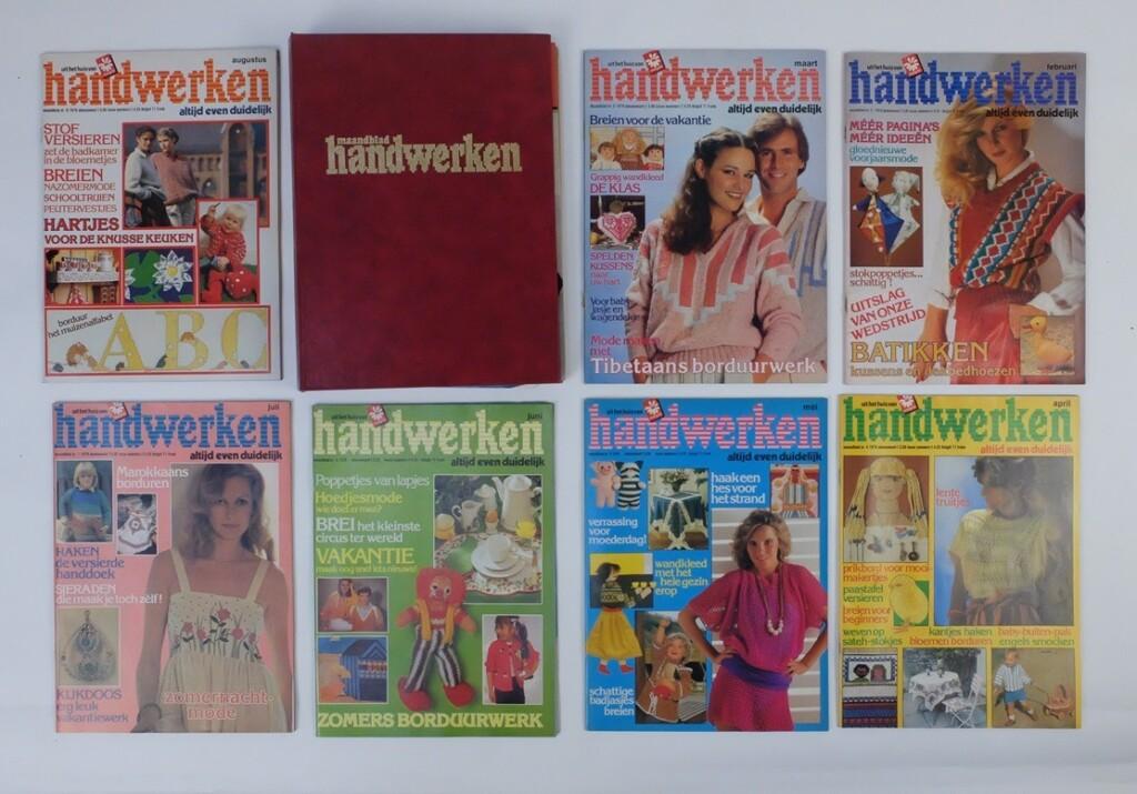 Jaargang maandblad Handwerken