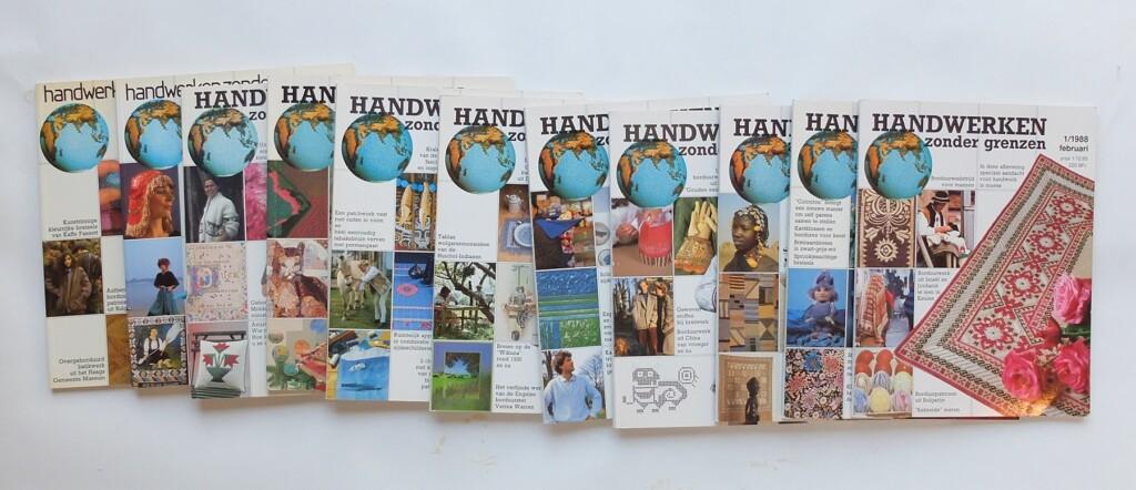 Oude tijdschriften Handwerken zonder Grenzen