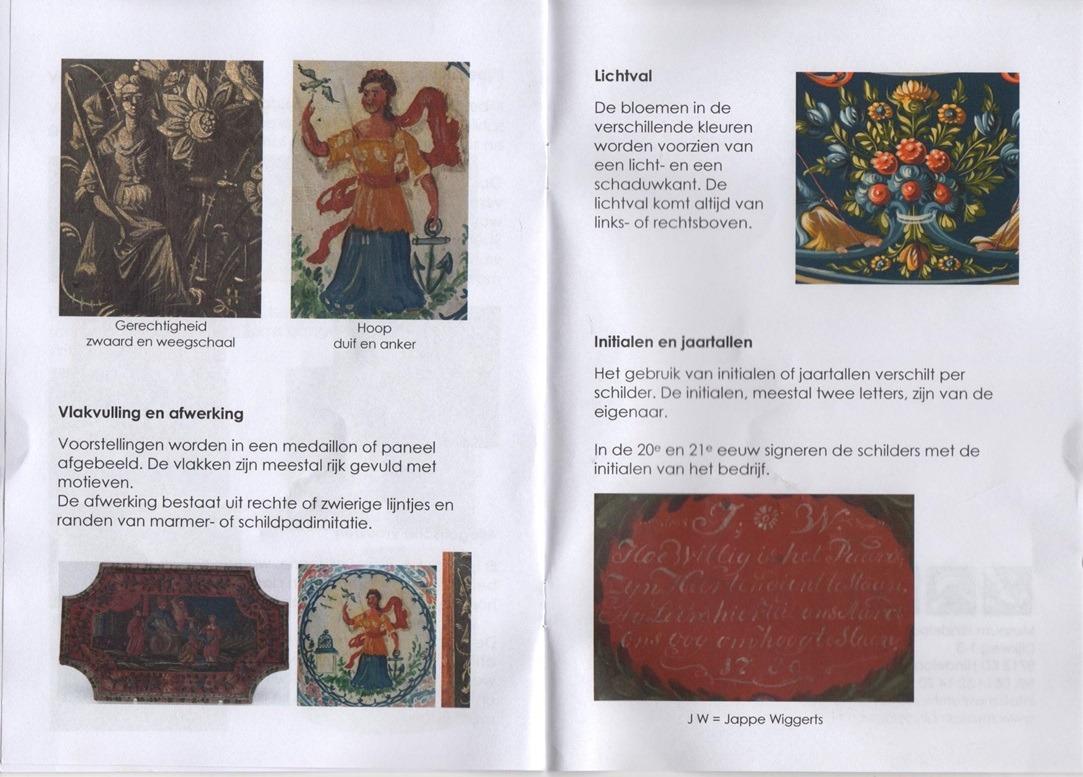 Pagina uit Kenmerken van de Hindelooper schilderkunst