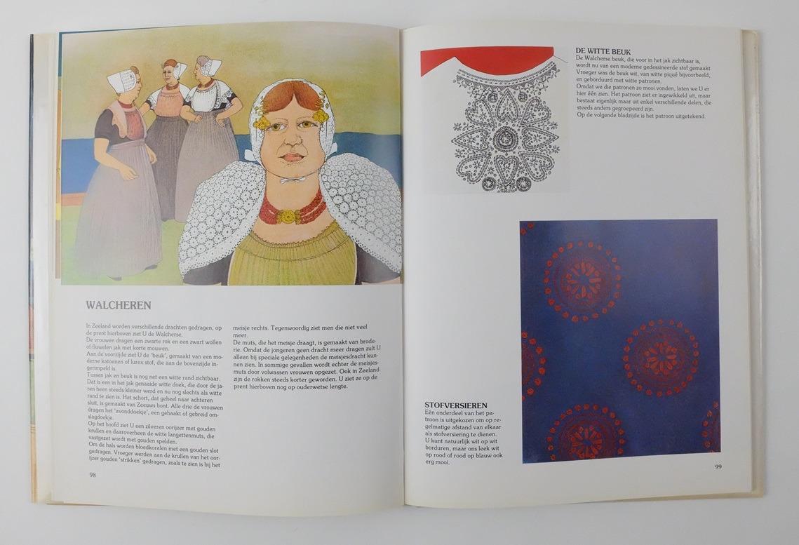 Pagina uit boek Streekdrachtmotieven