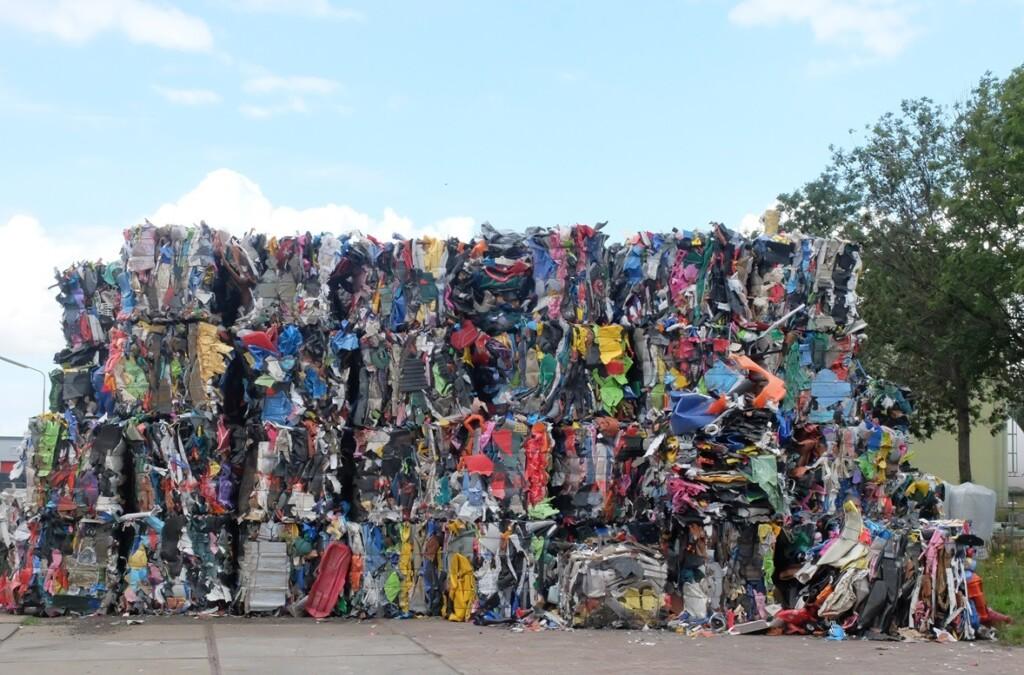 Plastik afvalberg