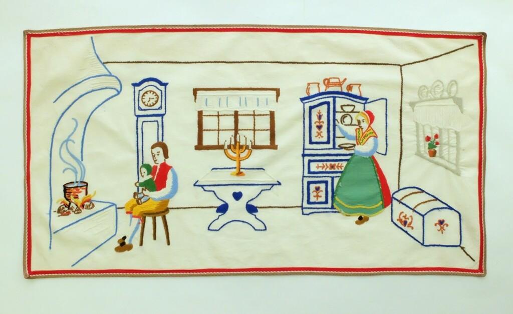 Scandinavisch borduurwerk
