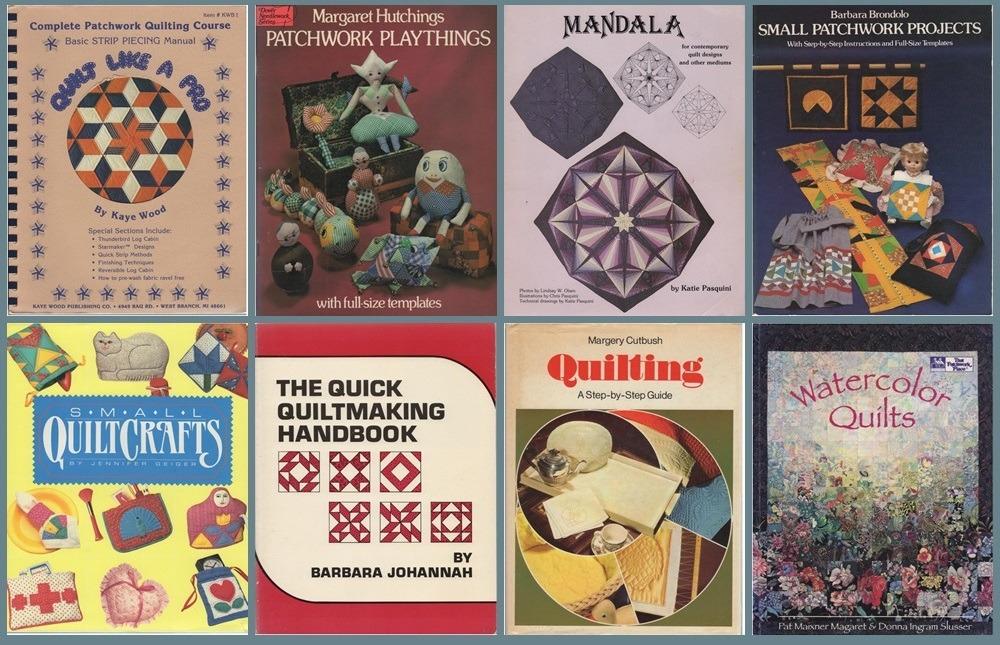 Acht boeken over Patchwork