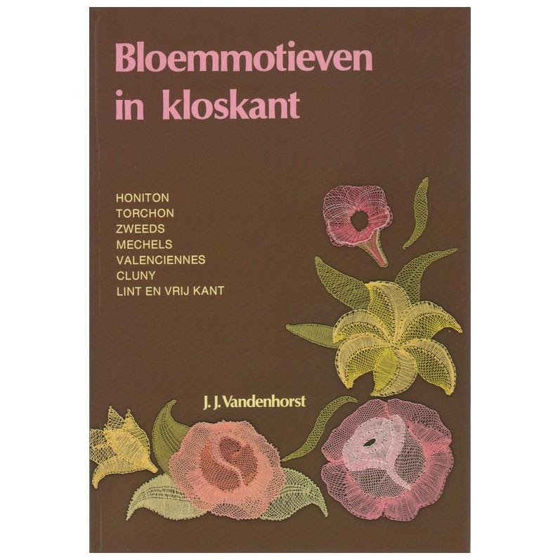 Boek Bloemmotieven in kloskant