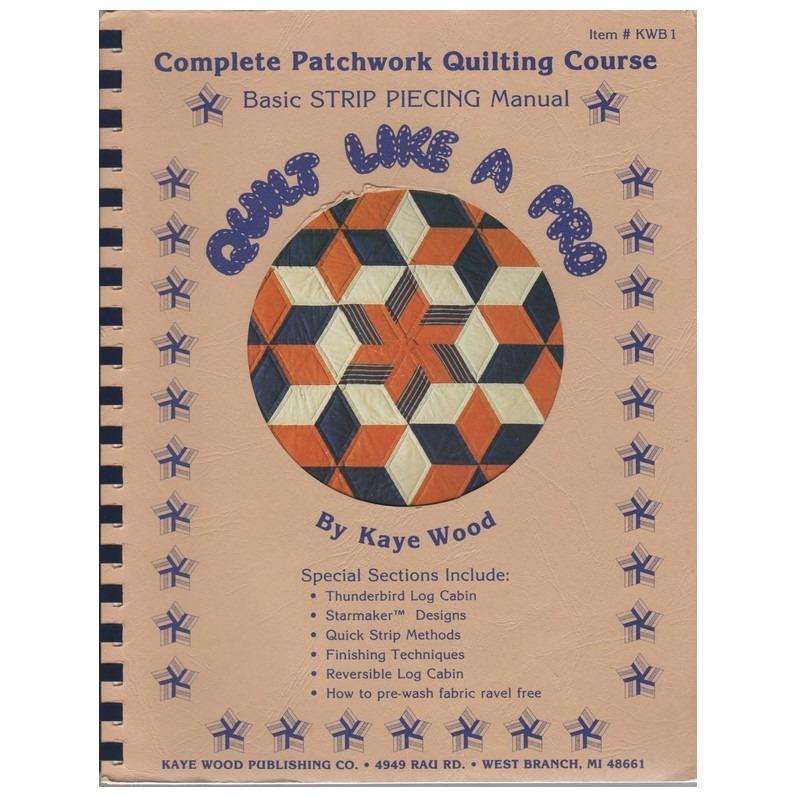 Boek Complete Patchwork Quilting Course