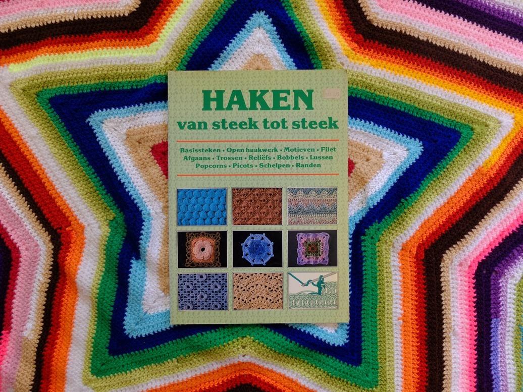 Boek Haken Van Steek Tot Steek