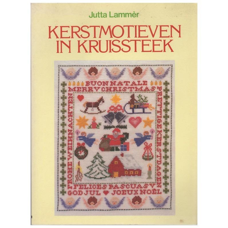 Boek Kerstmotieven in kruissteek