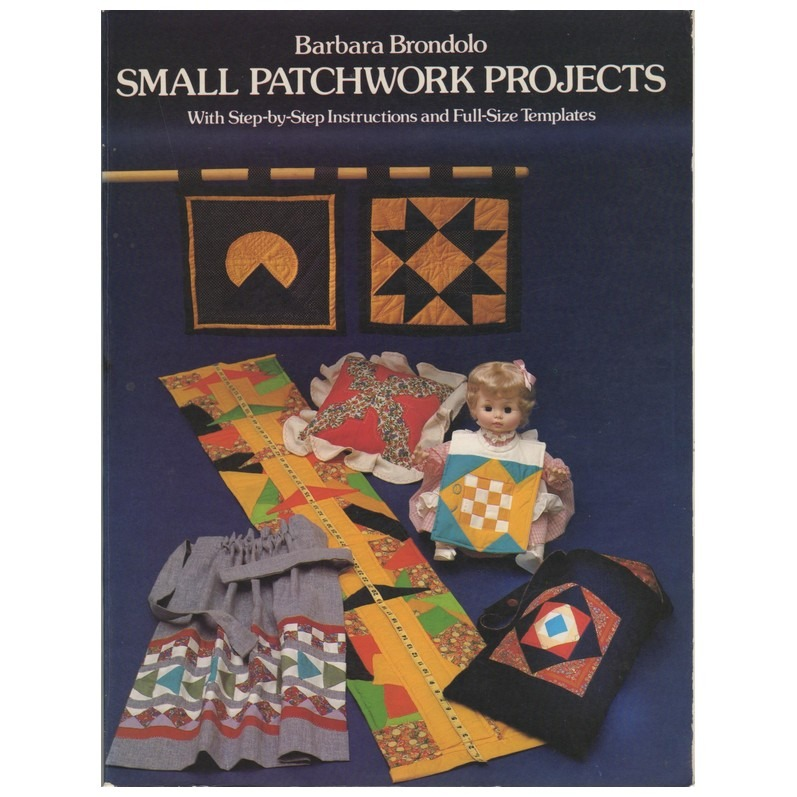 Boek Small Patchwork projects