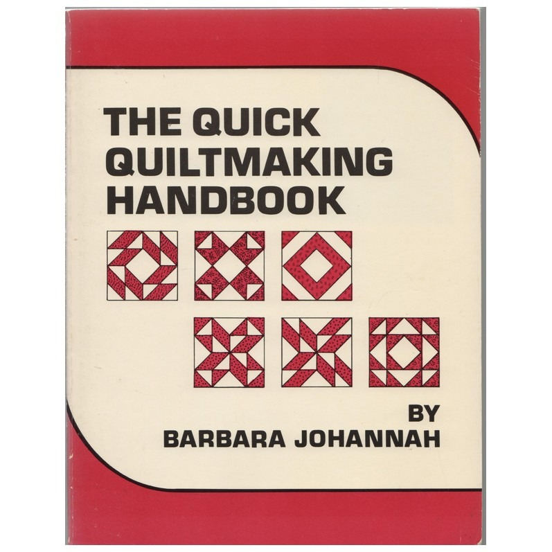 Boek- the Quick Quiltmaking Handbook