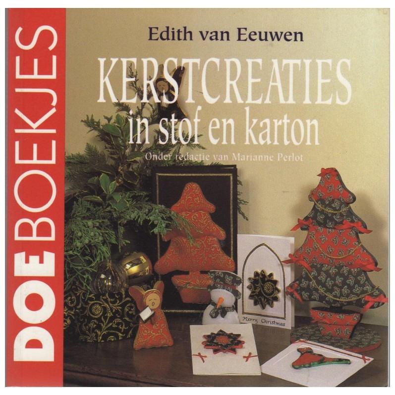 Boekje Kerstcreaties in stof en karton