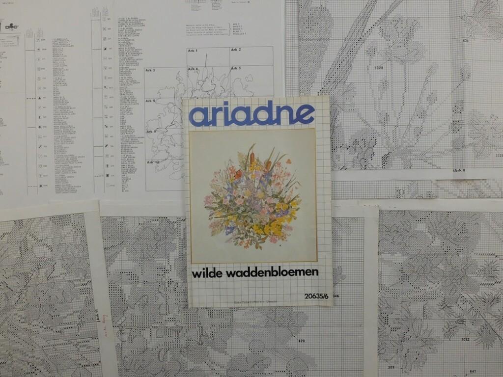 patroonvellen Wilde Waddenbloemen