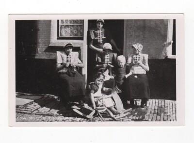 Oude ansichtkaart Spakenburg