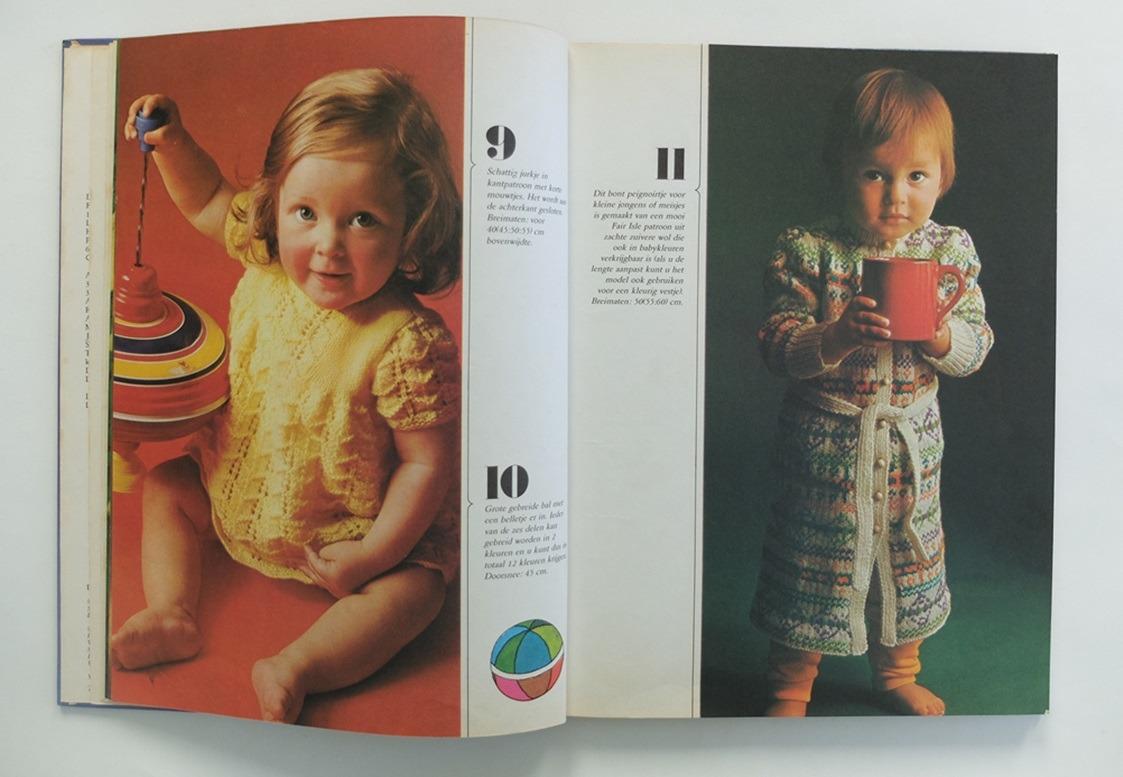 Pagina uit boek Bezig zijn met breienPagina uit boek Bezig zijn met breien