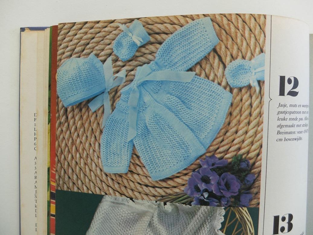 Pagina uit boek Bezig zijn met breien