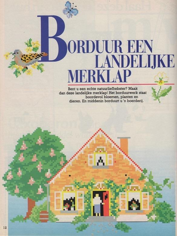 Patroon uit Ariadne mei 1988