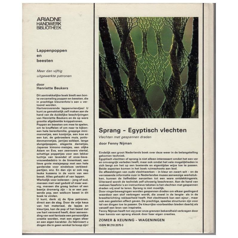 Boek Sprang - egyptisch vlechten