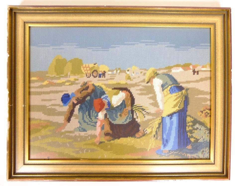 Tapisserie-schilderij-De-arenleesters-van-Millet