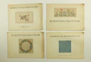 Vier boeken Eva Rosenstand