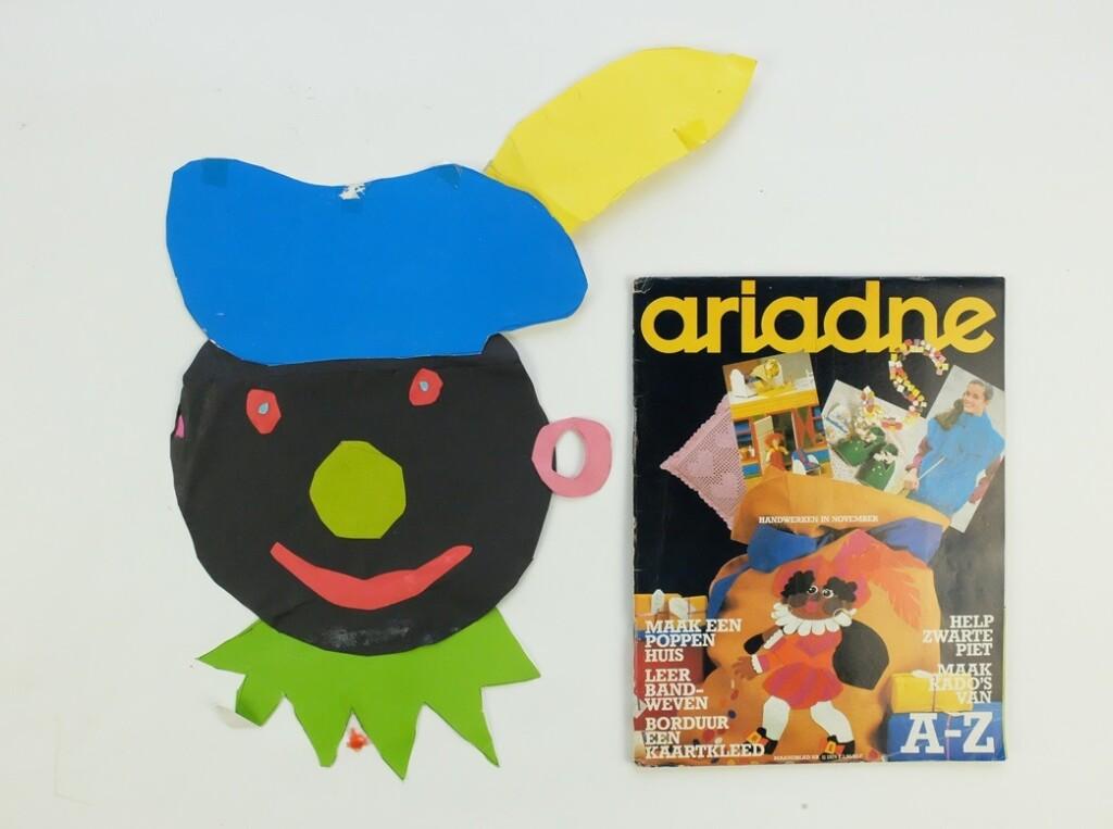 Ariadne met zwarte Piet