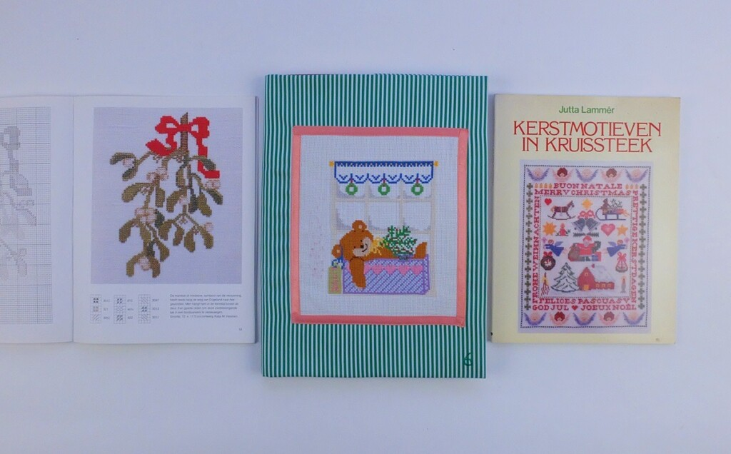 Boek Jutta Lammer borduren voor kerst