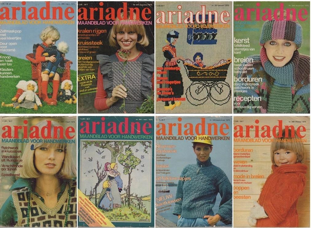 Collage Ariadnes uit 1975
