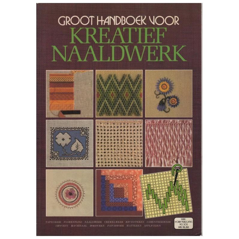 Groot handboek voor kreatief naaldwerk