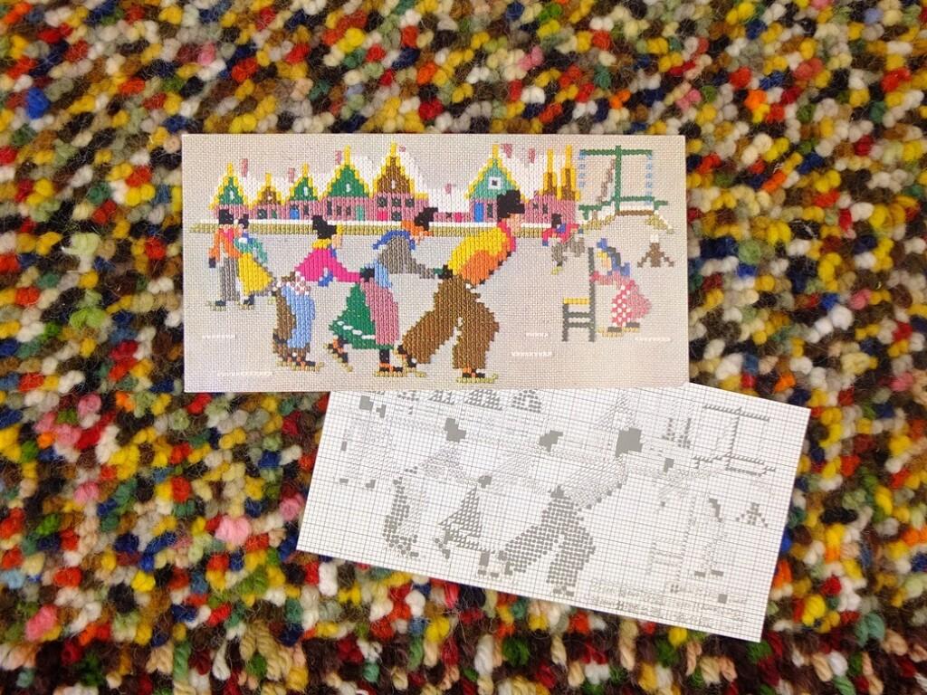 Kaart voor het kind afbeelding schaatsen