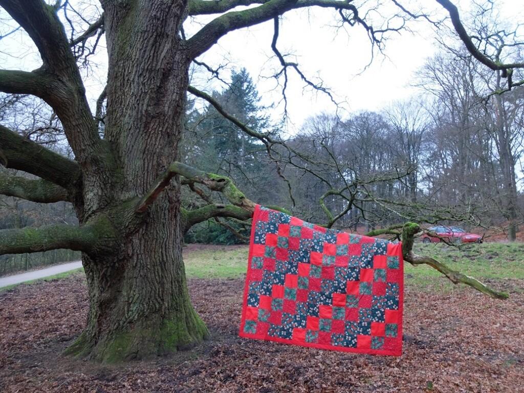 Kerst Quilt op Park Hoge Veluwe