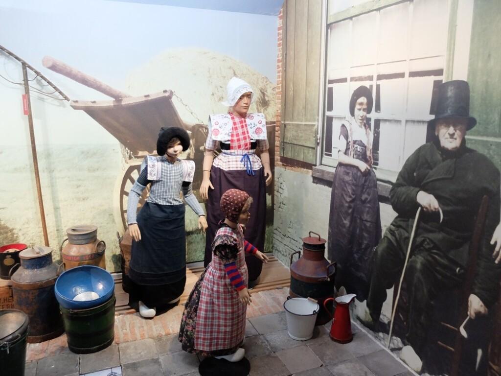 Opstelling in museum Spakenburg
