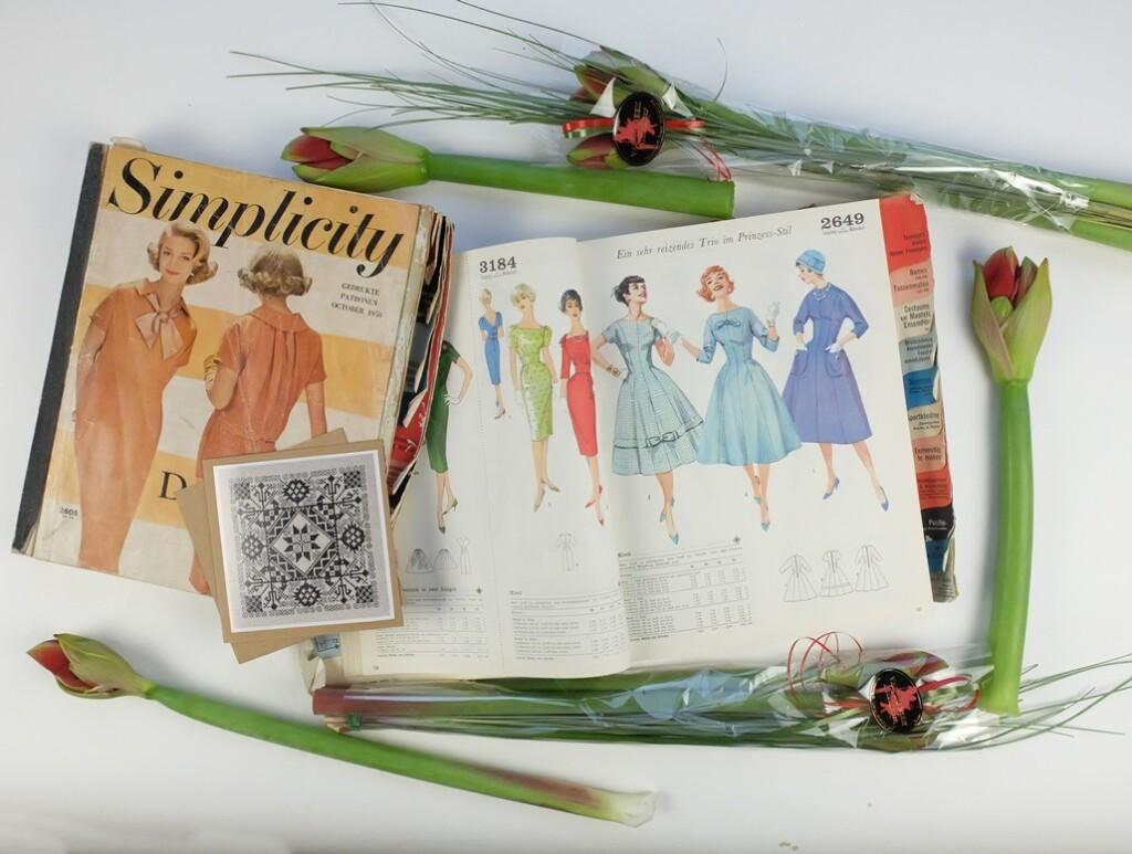 Oude patronenboeken Simplicity