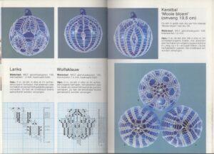 Pagina uit boekje Kunstbreien